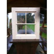 Holzfenster Kippfenster 72 x 82 cm