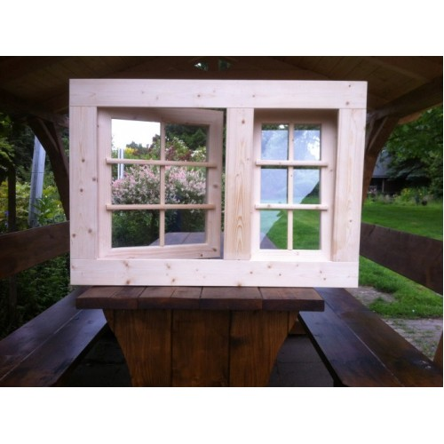 holzfenster dreh und kippfenster 103 x 72 cm. Black Bedroom Furniture Sets. Home Design Ideas