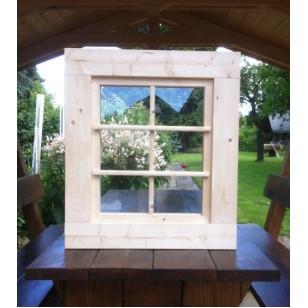 holzfenster kippfenster 63 x 72 cm. Black Bedroom Furniture Sets. Home Design Ideas