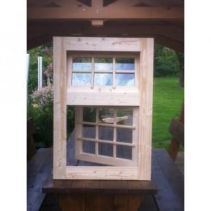 Holzfenster Dreh und Kippfenster 72 x 103 cm
