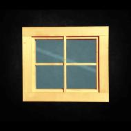 Holzfenster feststehend (BxH variabel)