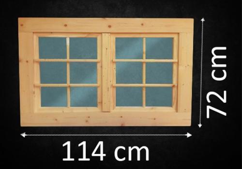 fenster holzfenster gartenhaus gartenhausfenster doppelfl 114 x 72 cm neu ebay. Black Bedroom Furniture Sets. Home Design Ideas